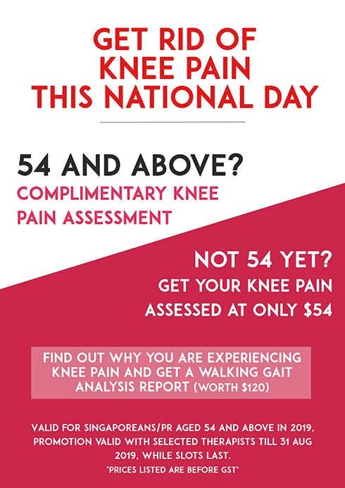 complimentary knee pain assessment