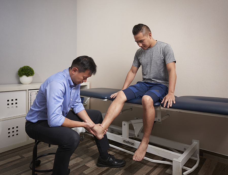 ankle foot pain foot massages