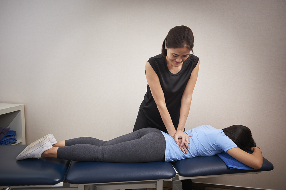 back pain care at home