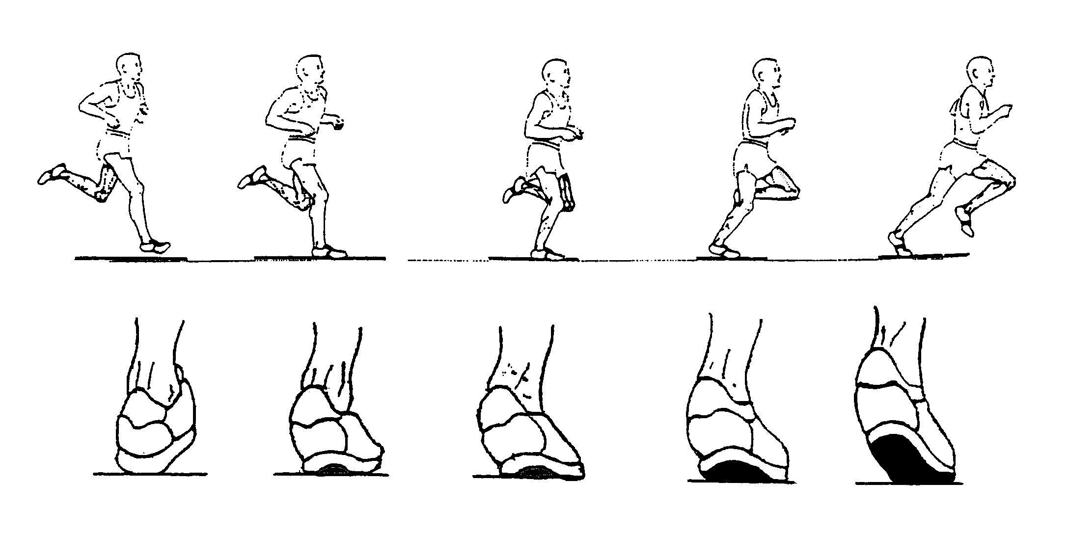 Runner's Foot Strike