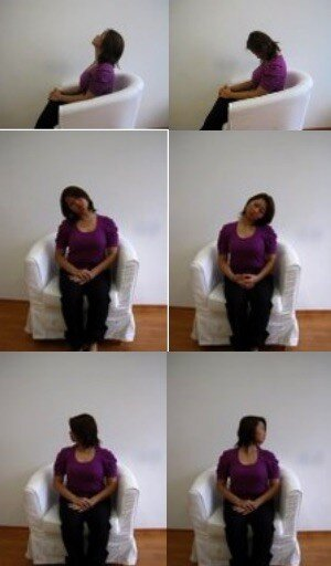 Neck Exercises Demonstration
