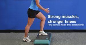 Exercise Eases Knee Osteoarthritis