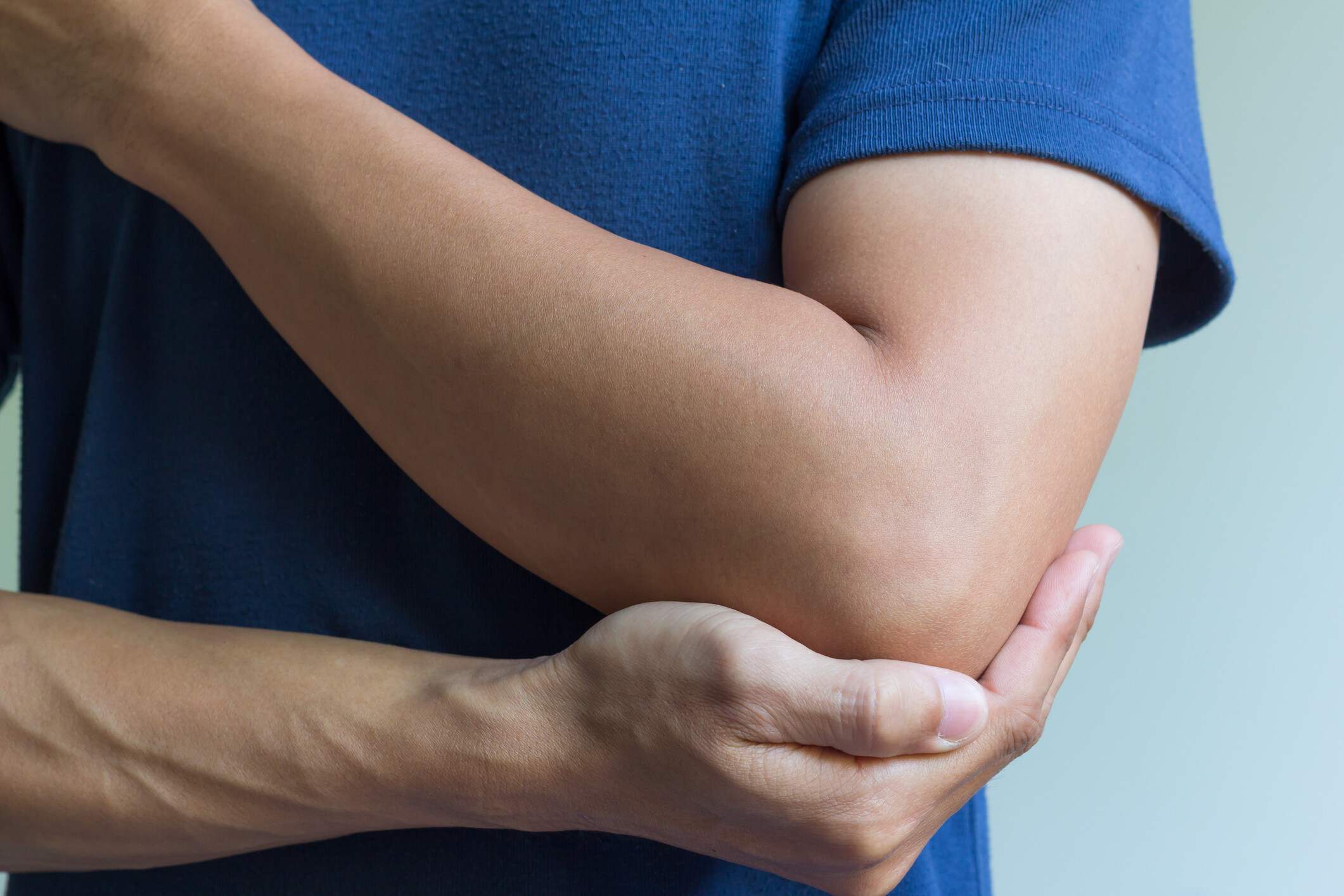 eople tend to overuse their elbow by playing sports with causes Elbow Pain and injury